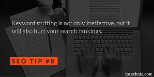 Keyword Stuffing and it's Bad Impact on SEO