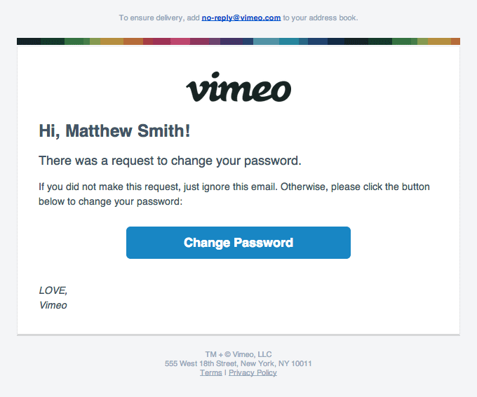 vimeo email marketing