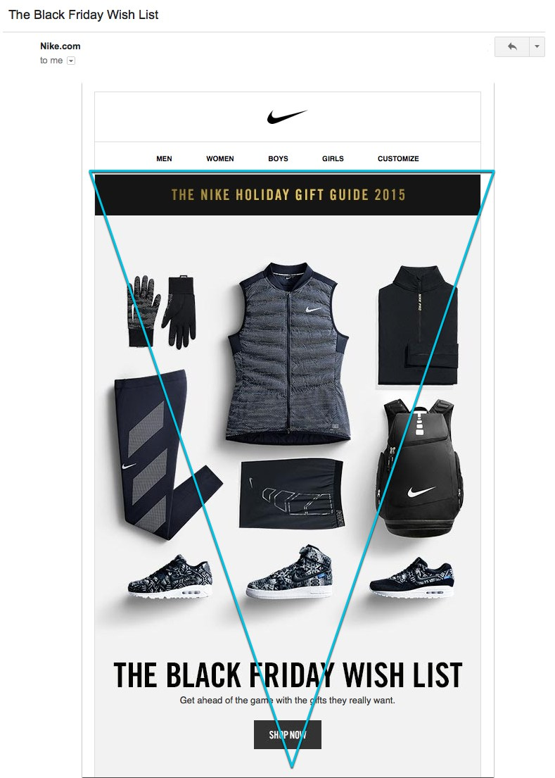 nike email marketing example