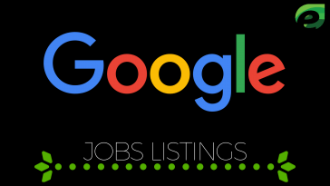 Google Jobs Listing update