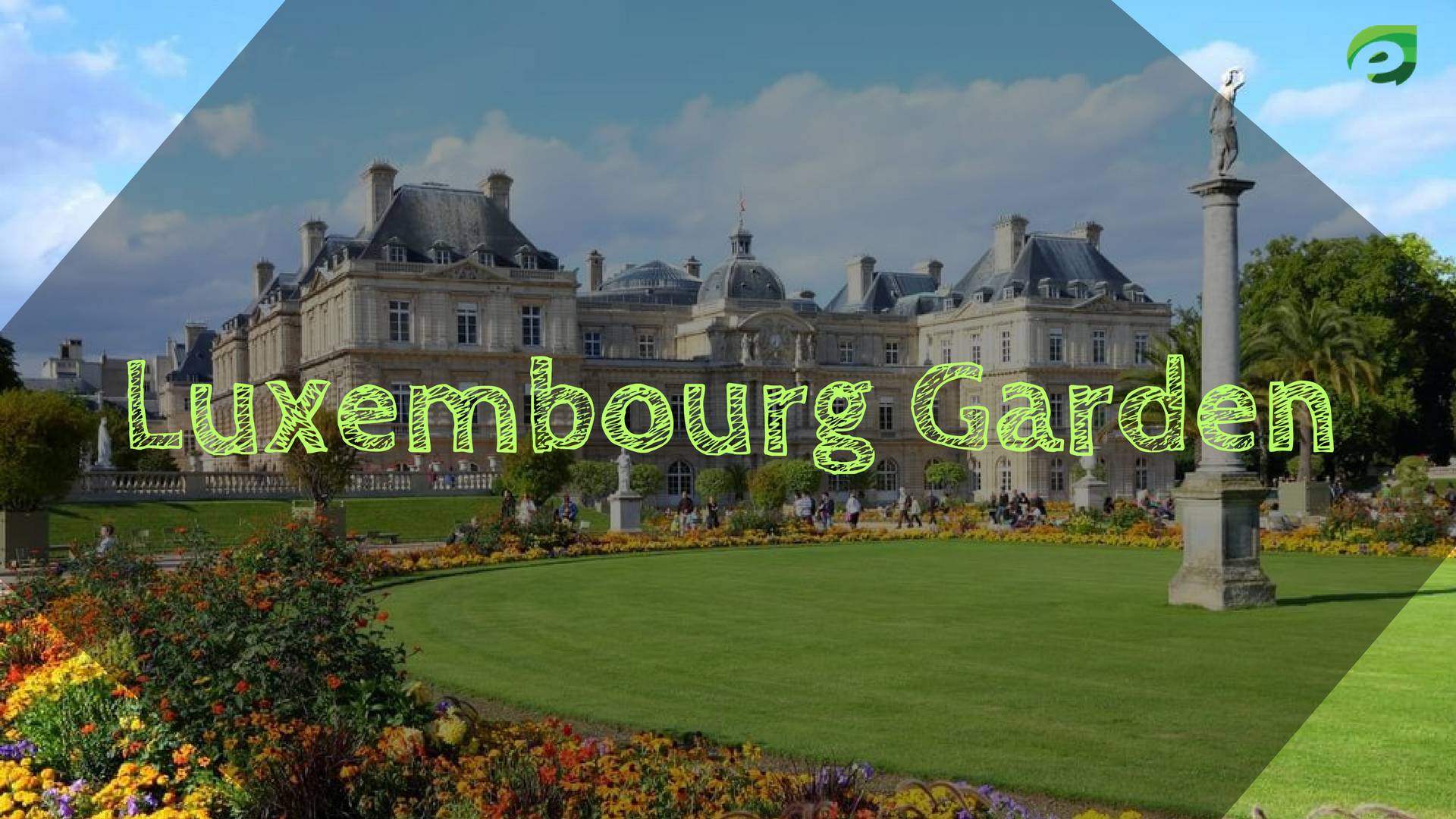 Luxembourg Garden in Spring- amazing places in paris