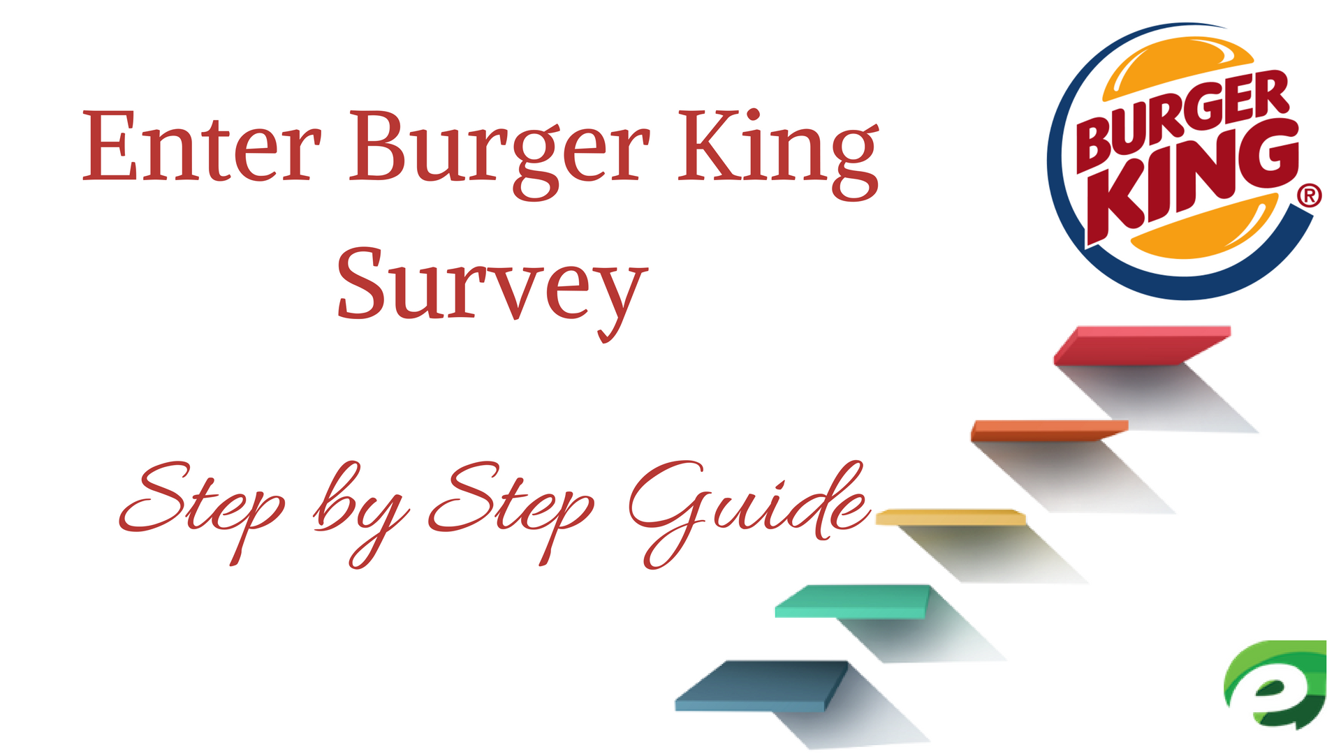 burger king survey- step by step guide