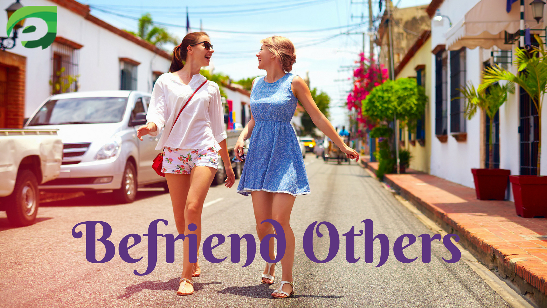 taking photos when traveling alone- befriends others