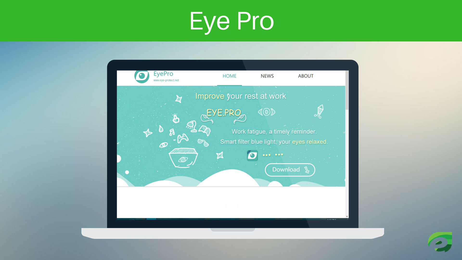 Eye Pro- Eye Protection Apps