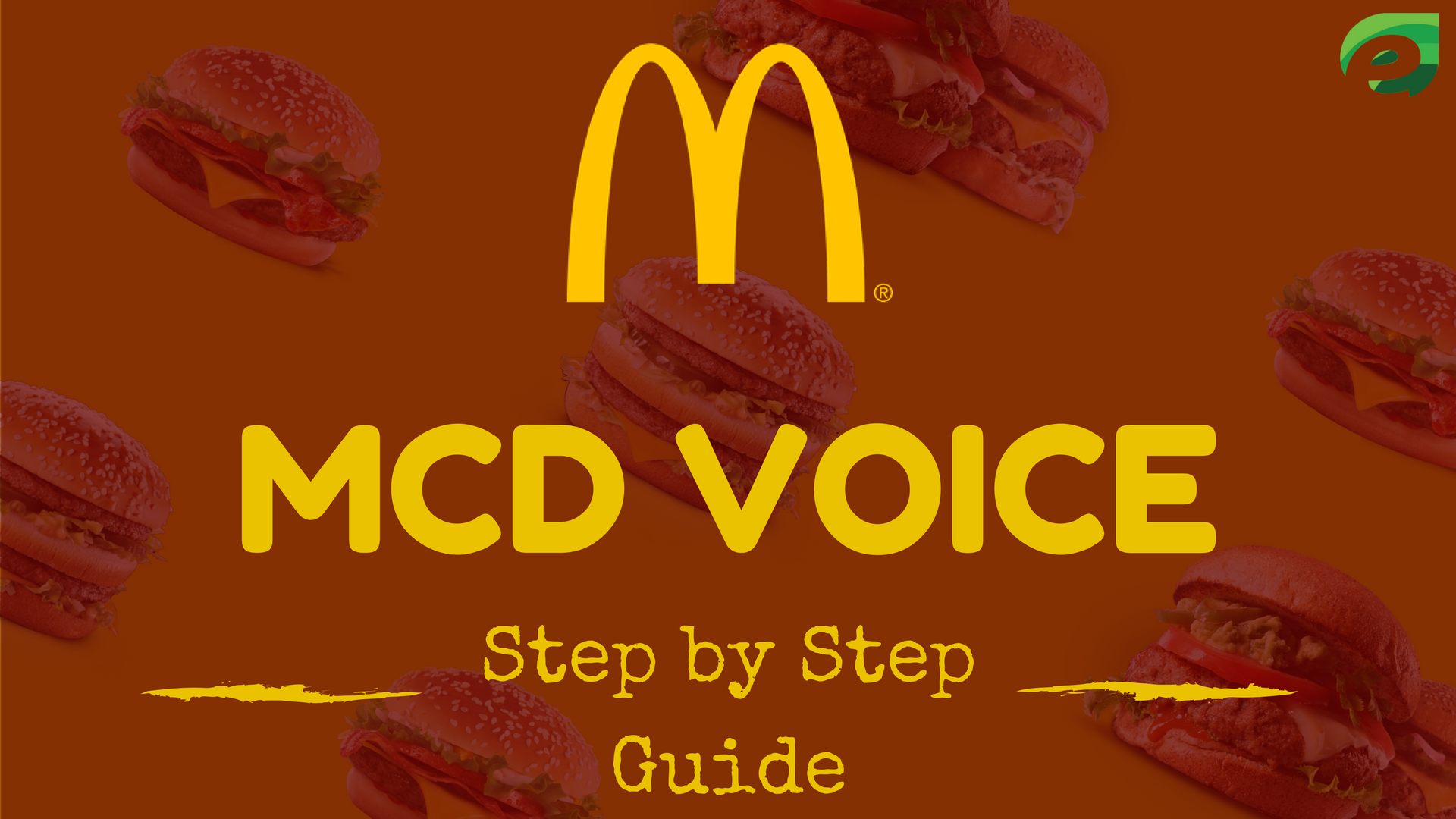 Mcdvoice Survey - Step by Step Guide