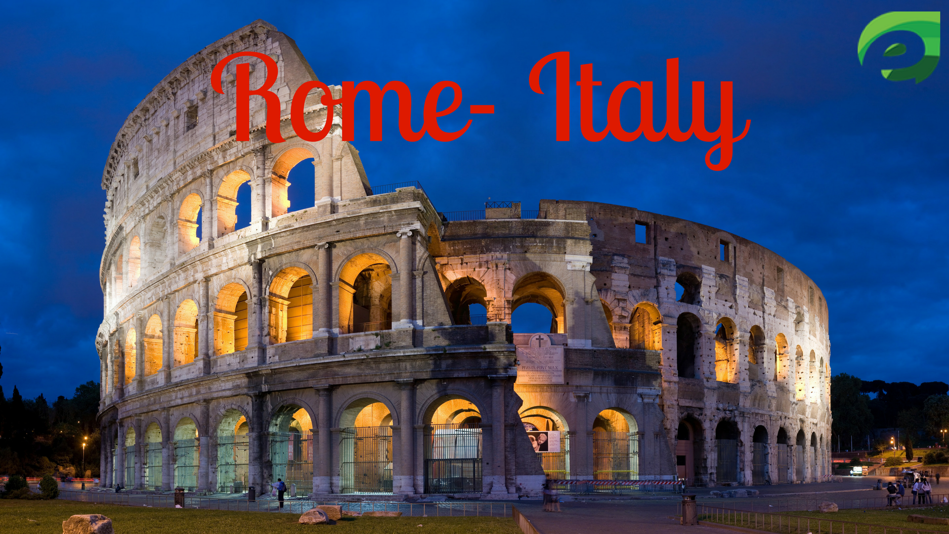 solo travel destination- Rome