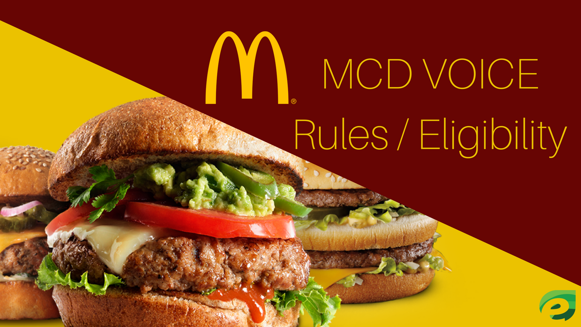 www.mcdvoice.com - rules / eligibility