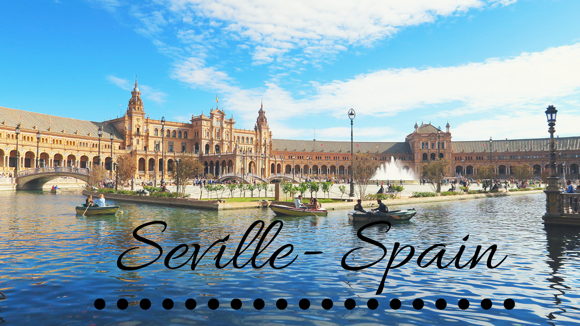 solo travel destination- seville