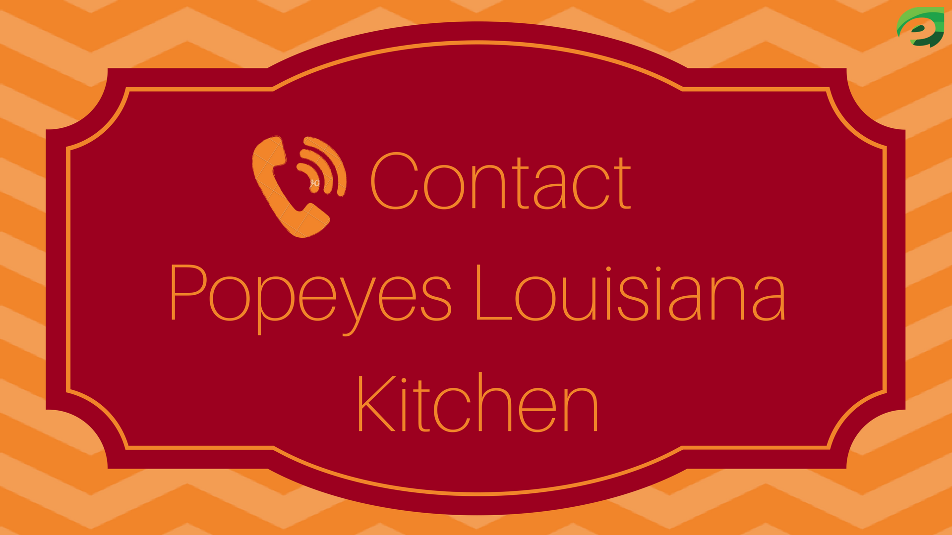 Tell popeyes - contact