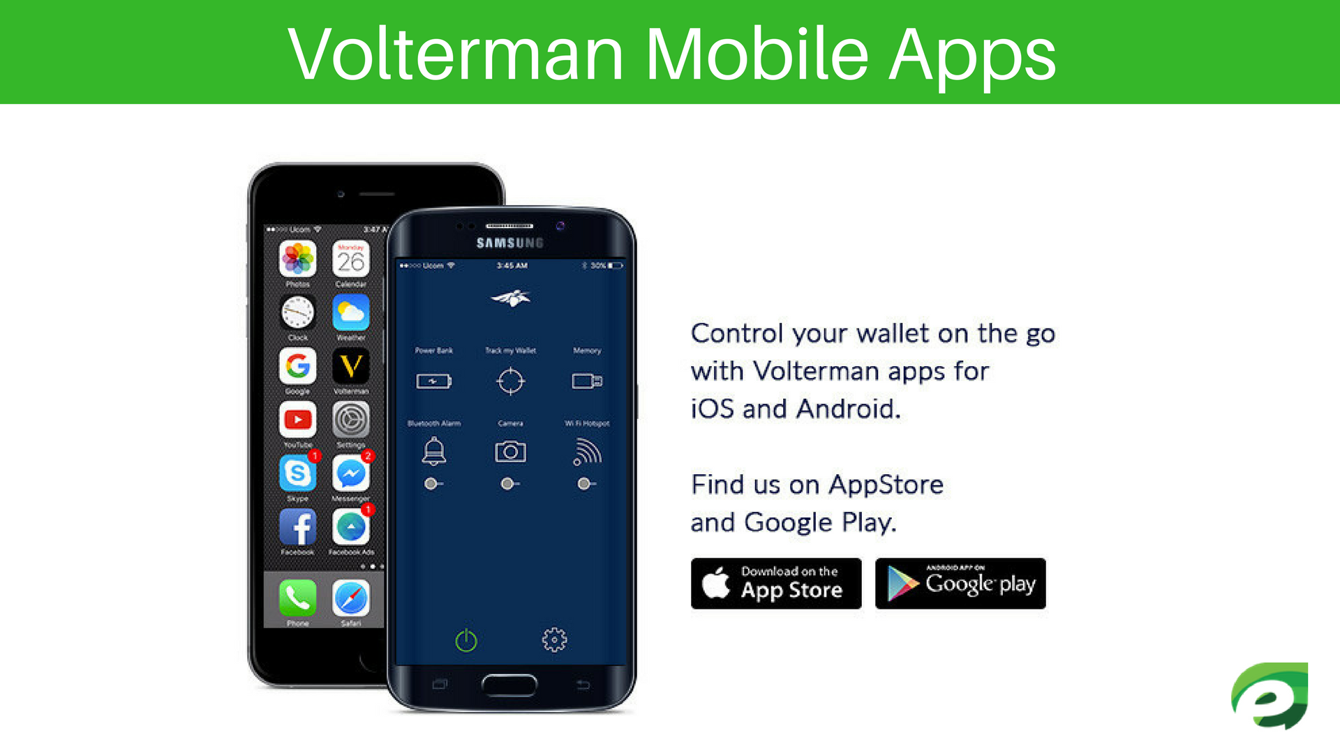 Mobile Apps - Volterman Wallet