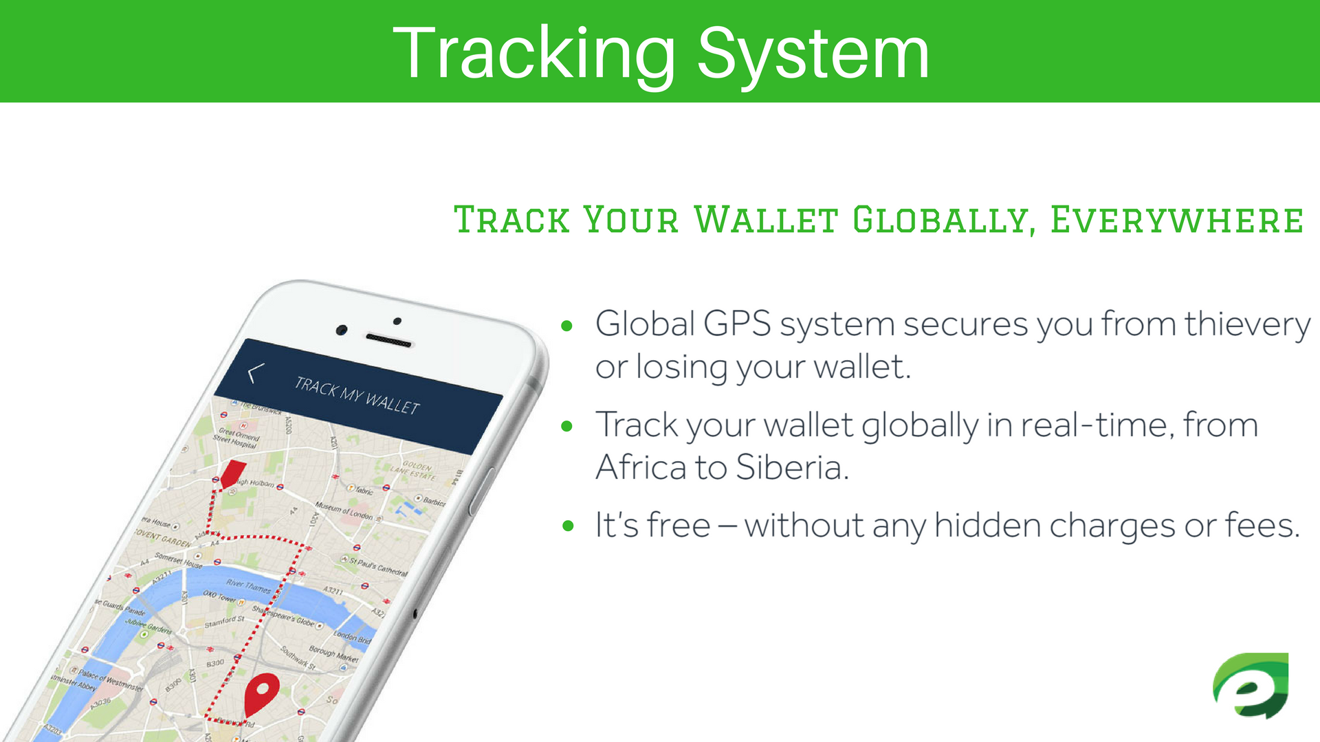 Tracking System - Volterman Wallet
