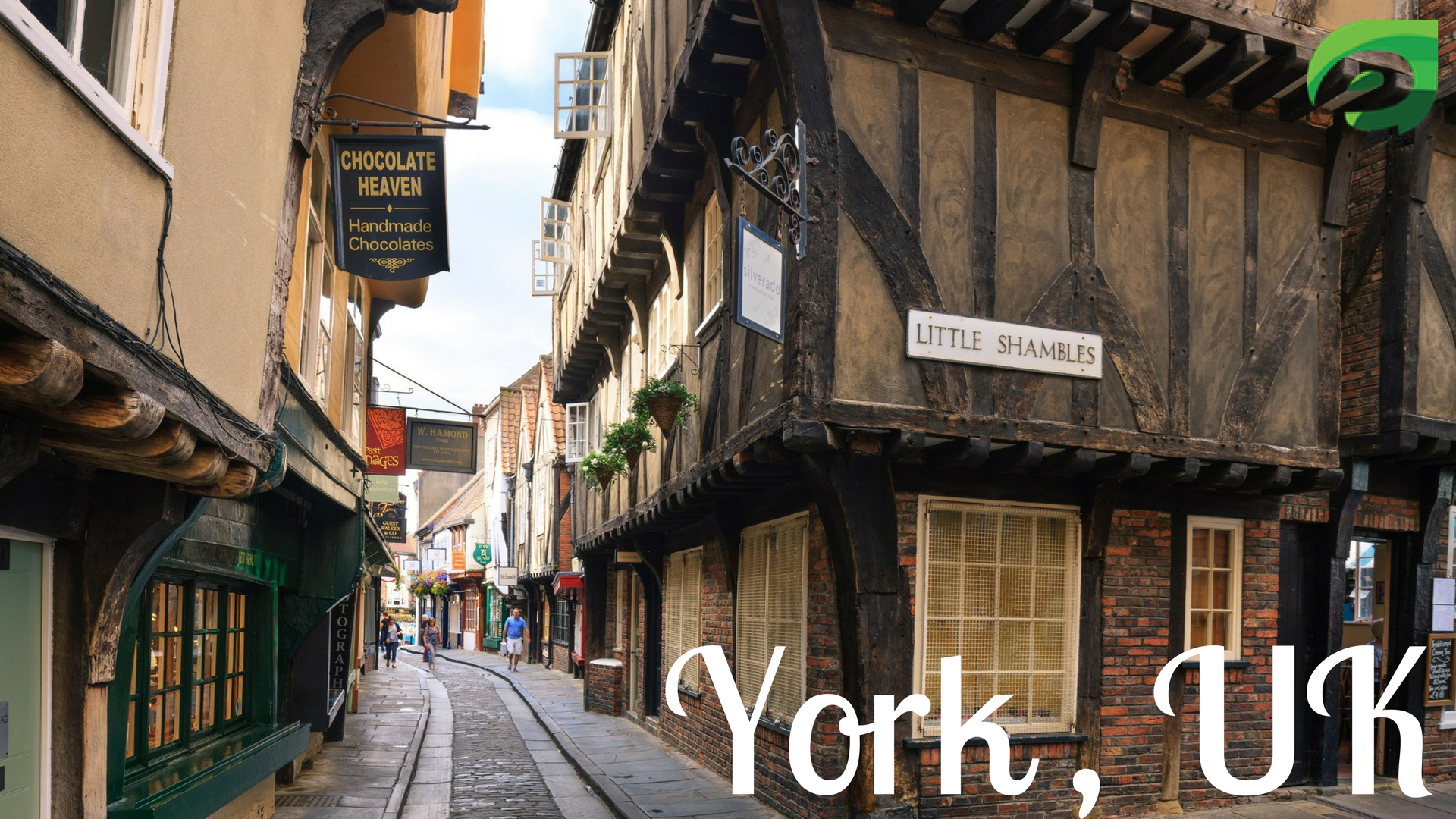 small cities in Europe- York