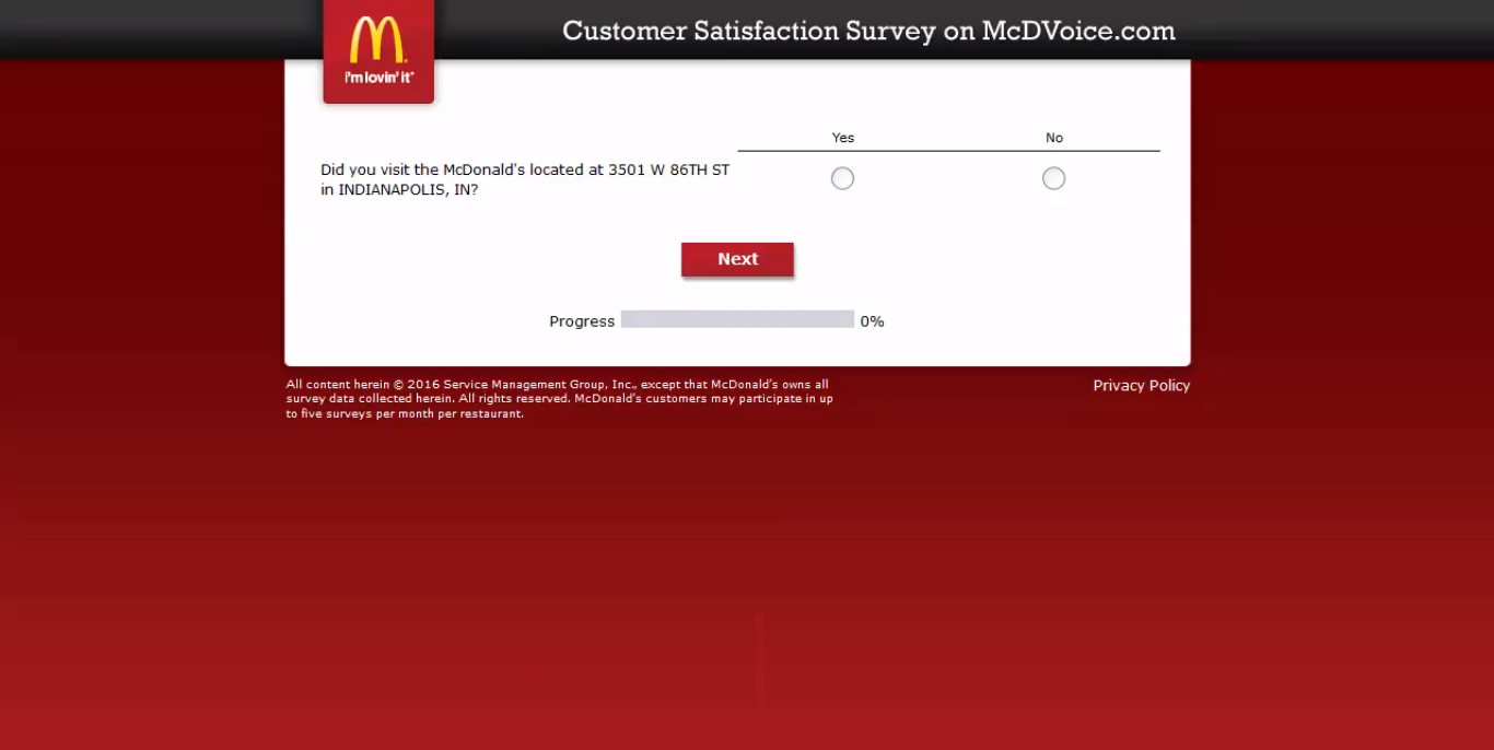 mcdvoice - question 1