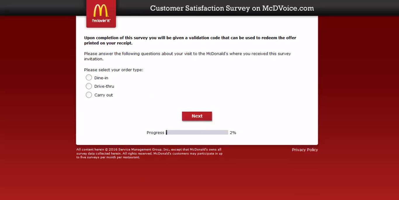 mcdvoice - question 2