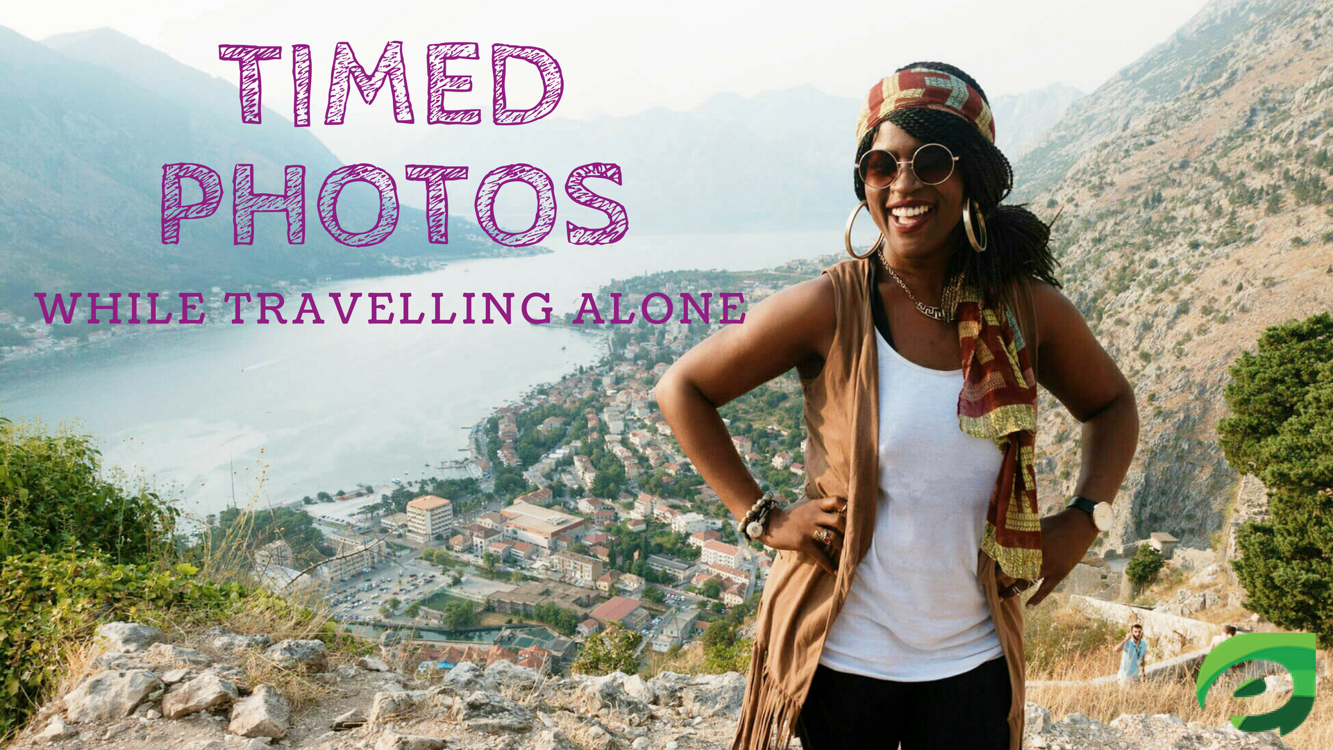 taking photos when traveling alone- timed photos