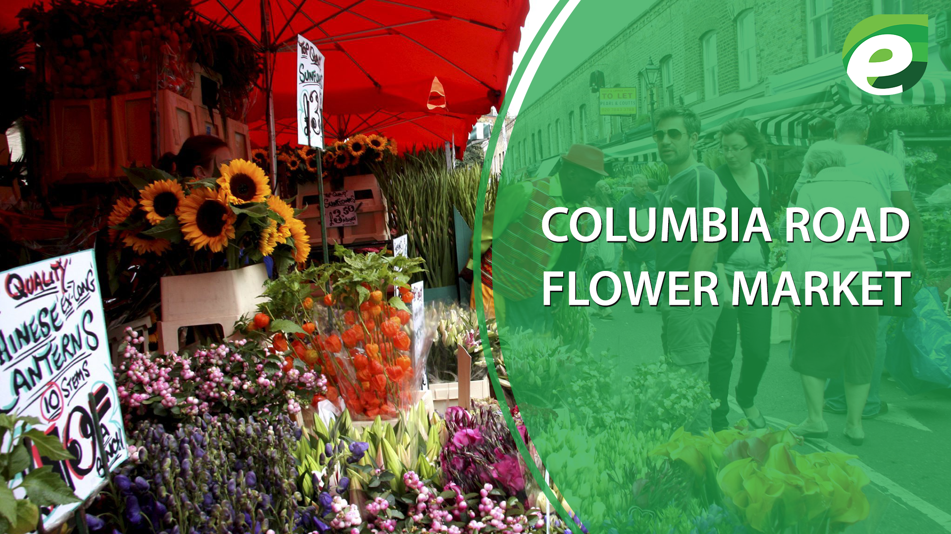 free things to do in London- Columbia Road Flower Market