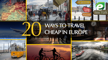 travel cheap in Europe- featured
