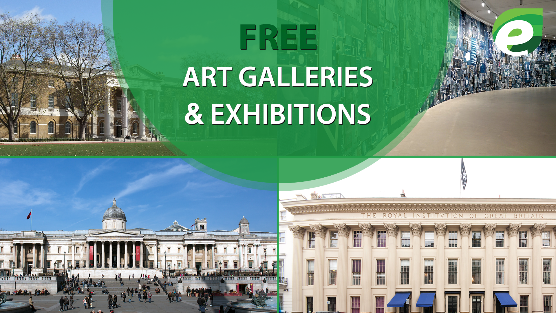 free things to do in London- Art Galleries
