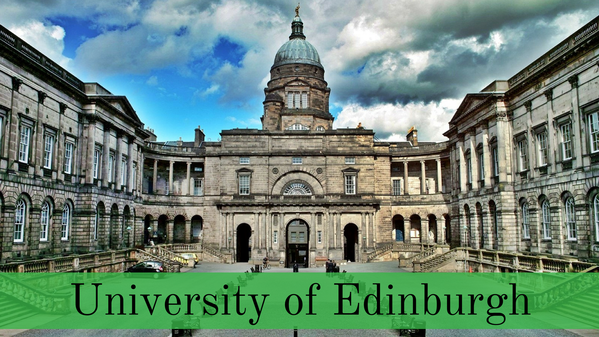 best universities in Europe- University of Edinburgh