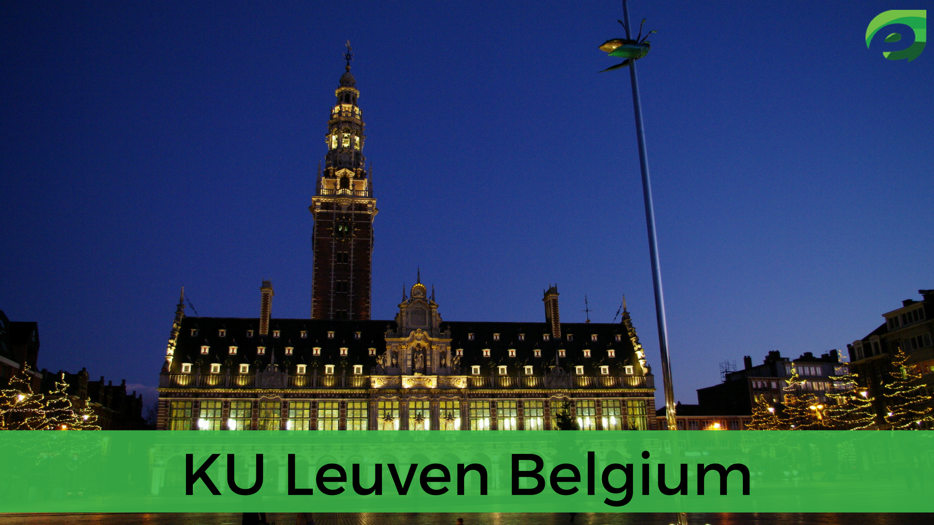 best universities in Europe- KU Leuven