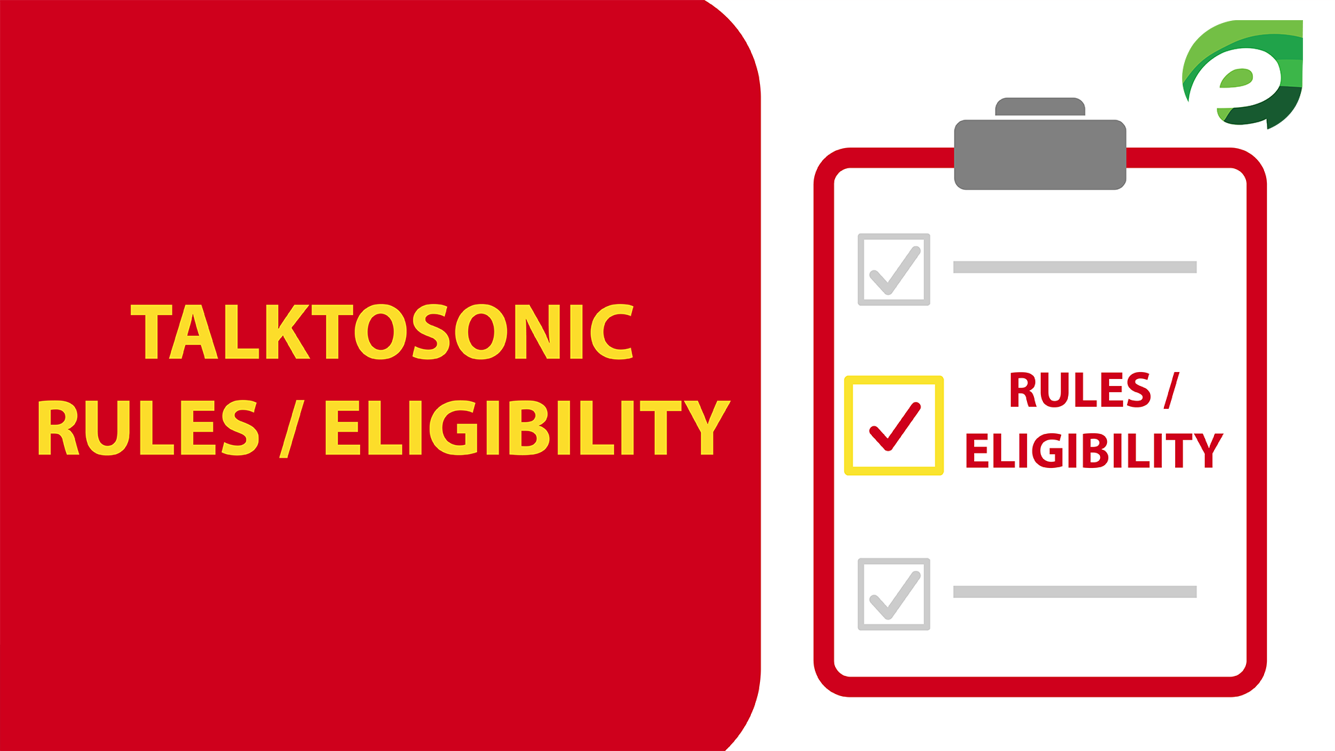 Talk to sonic Survey - Rules / Eligibility