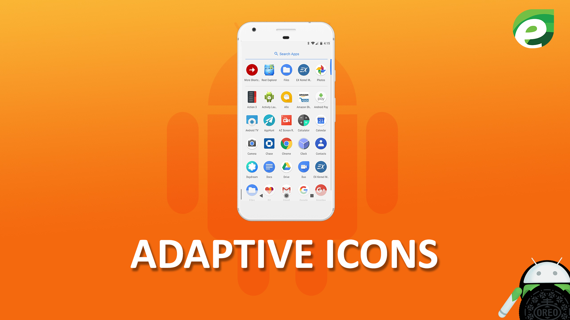 Android oreo- Adaptive icons