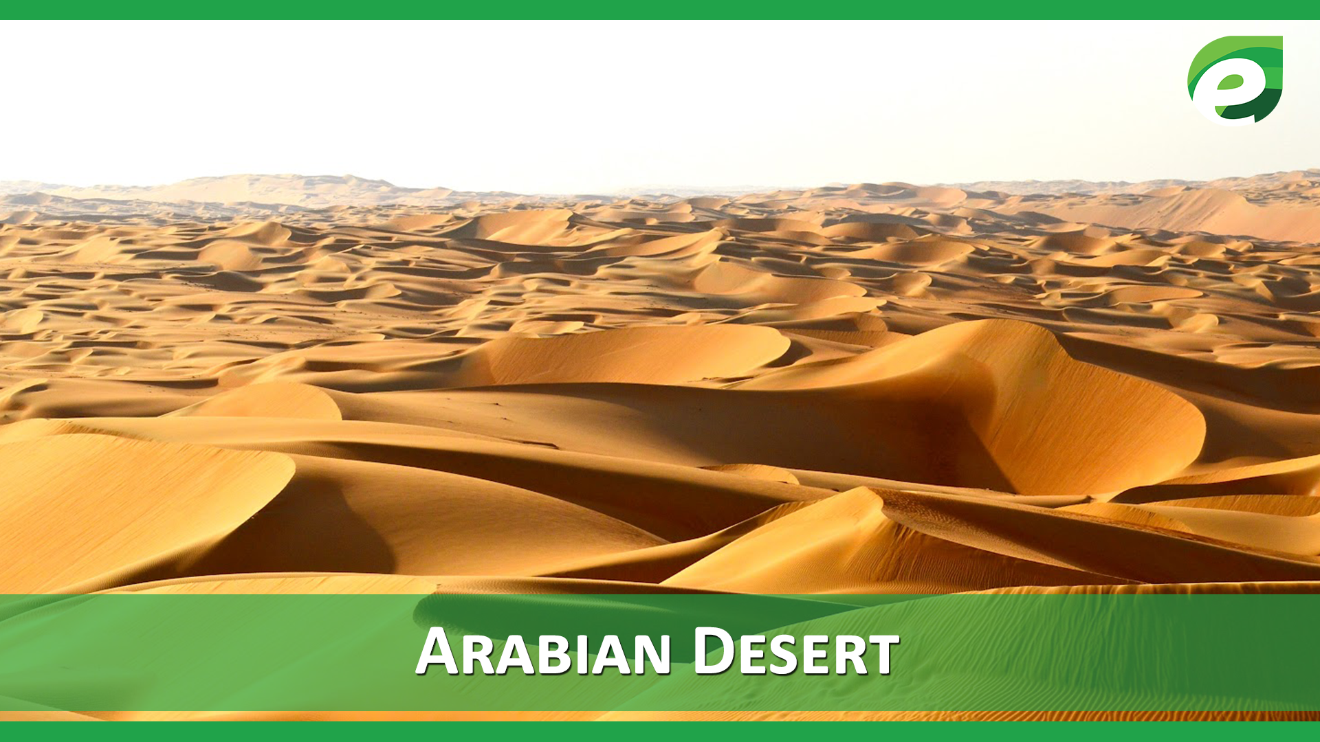 Hottest Deserts of the World- Arabian desert