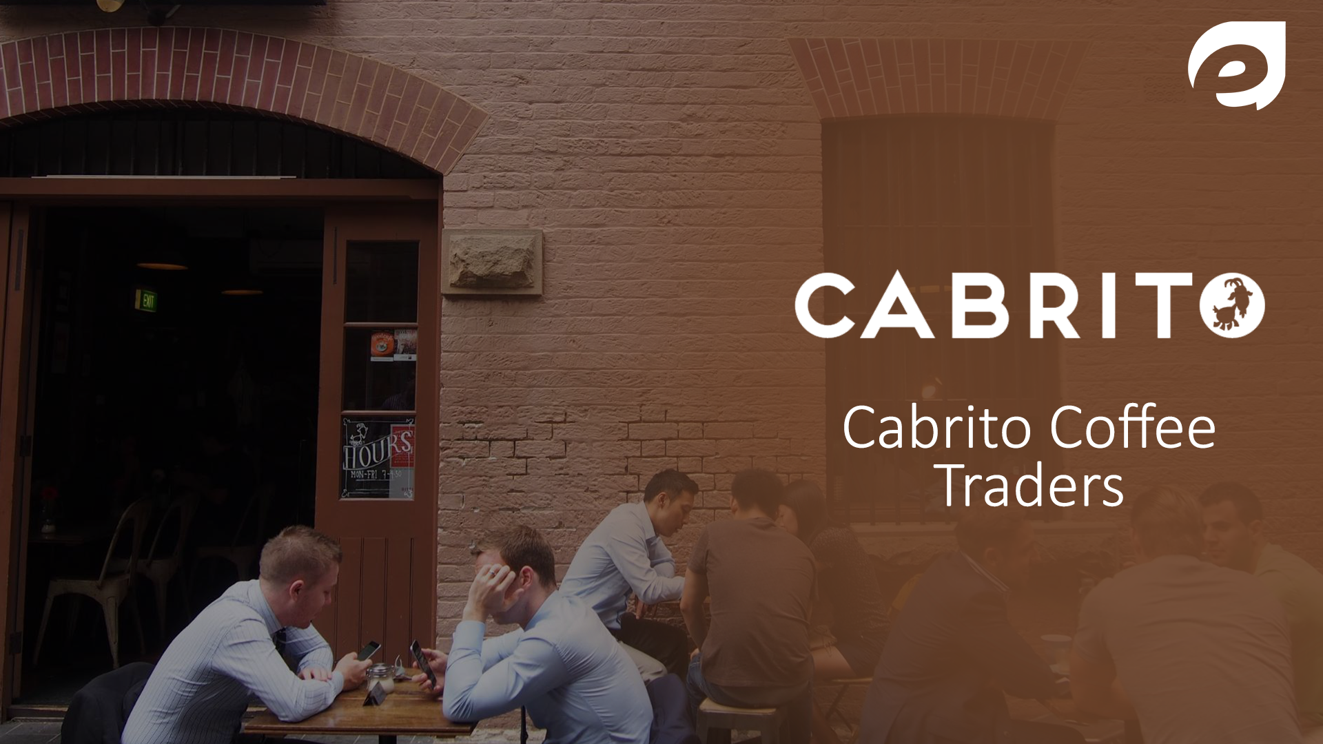 Best Coffee Cafes in Sydney- Cabrito coffee