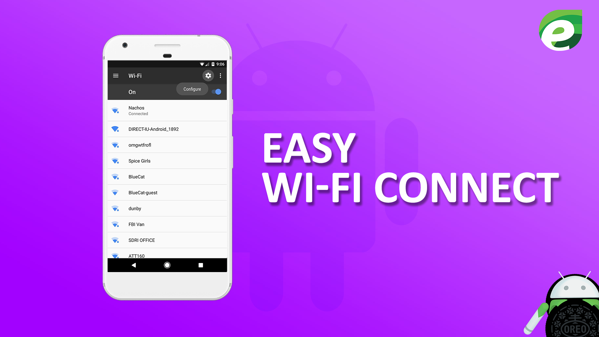 Android oreo- Easy wifi connect