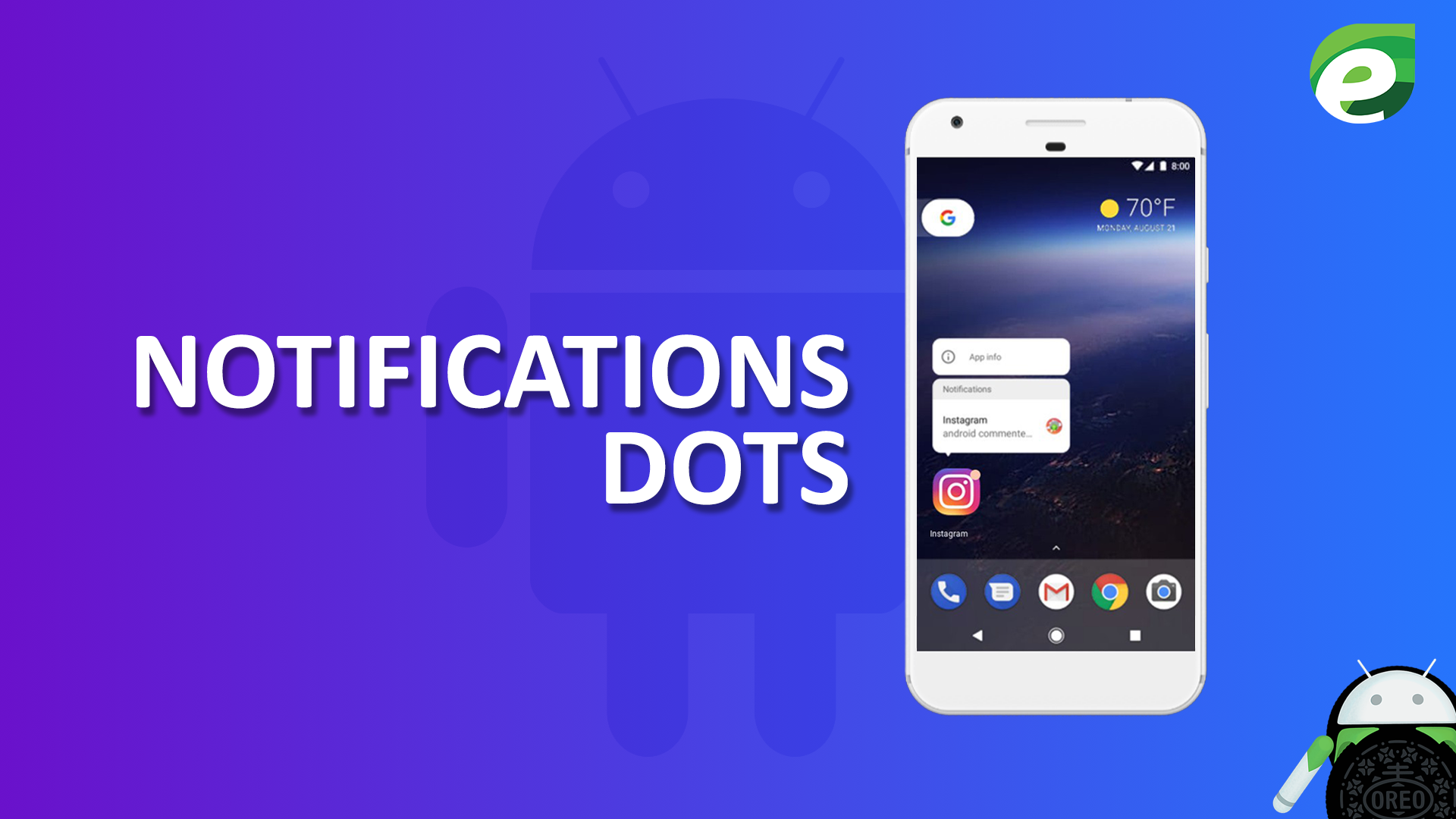 Android oreo- Notification Dots