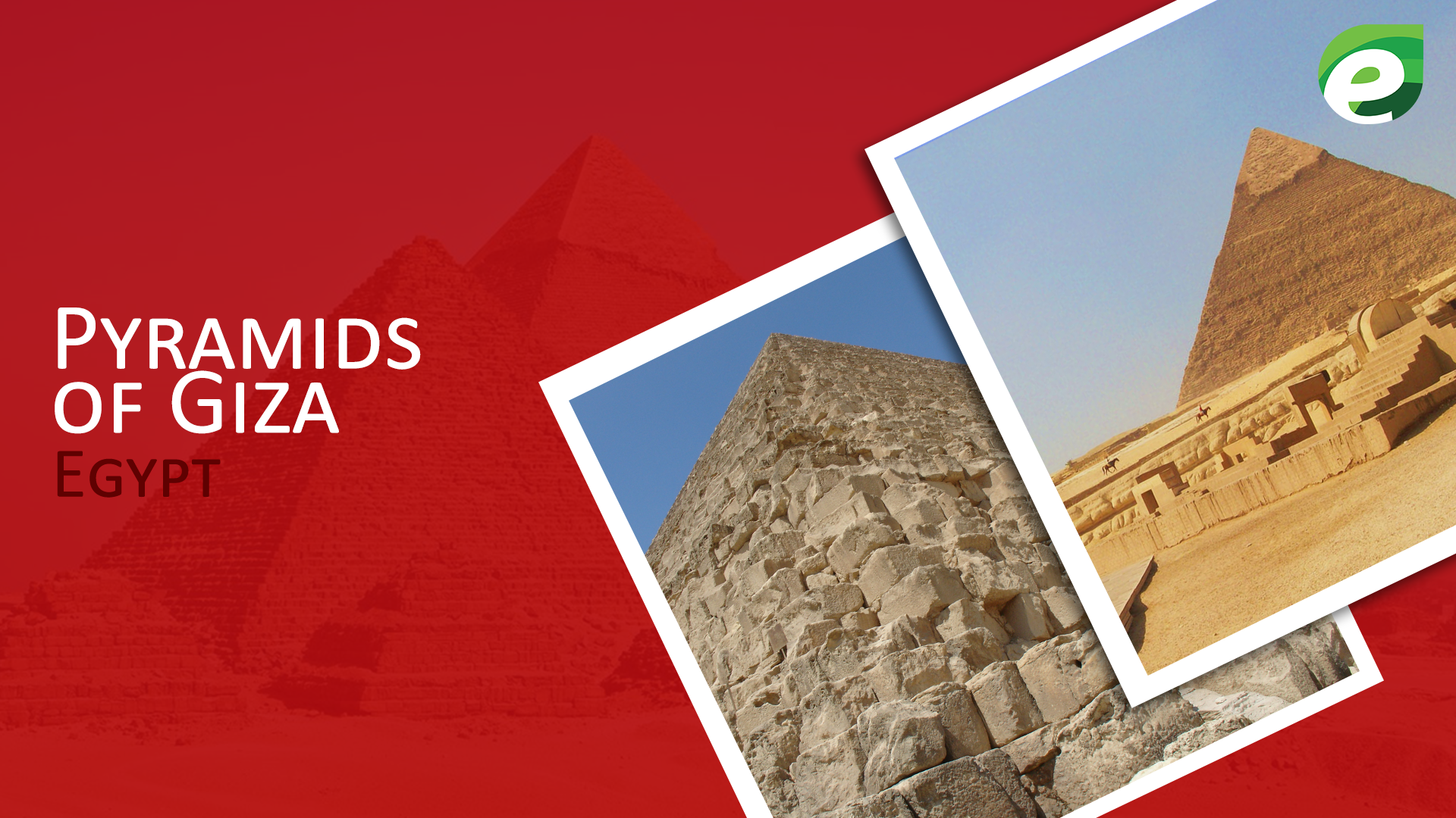 historical sites to visit- Pyramids of Egypt