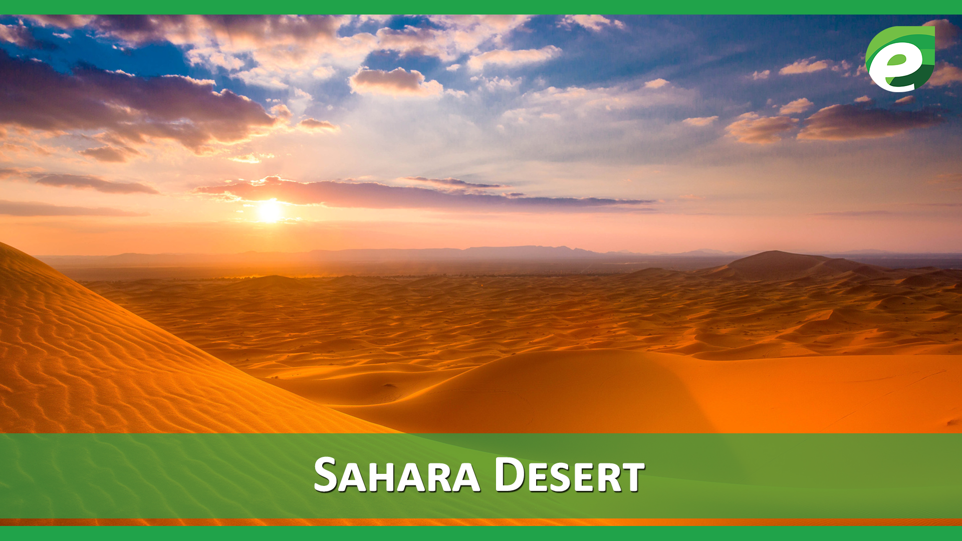 Hottest Deserts of the World- Sahara desert