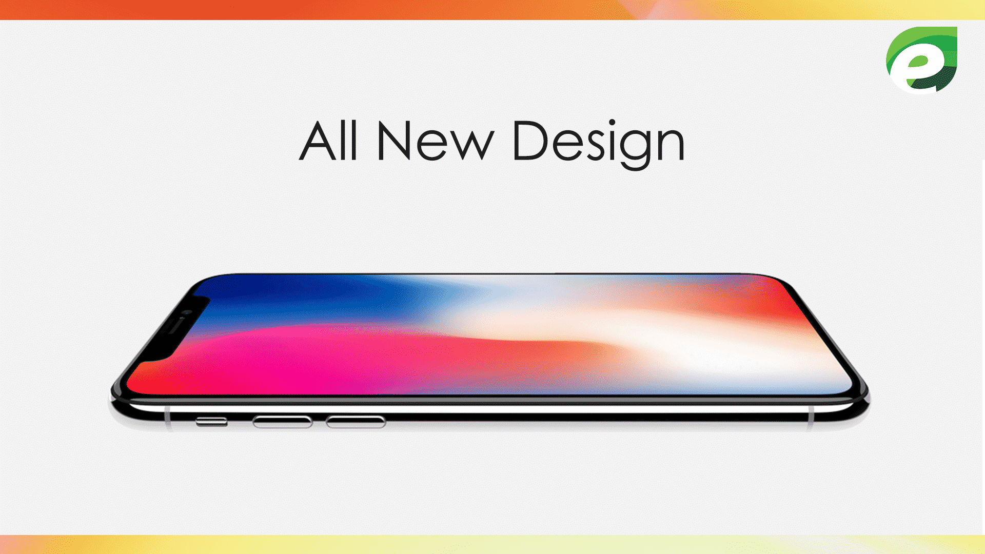 iphone x- All new design