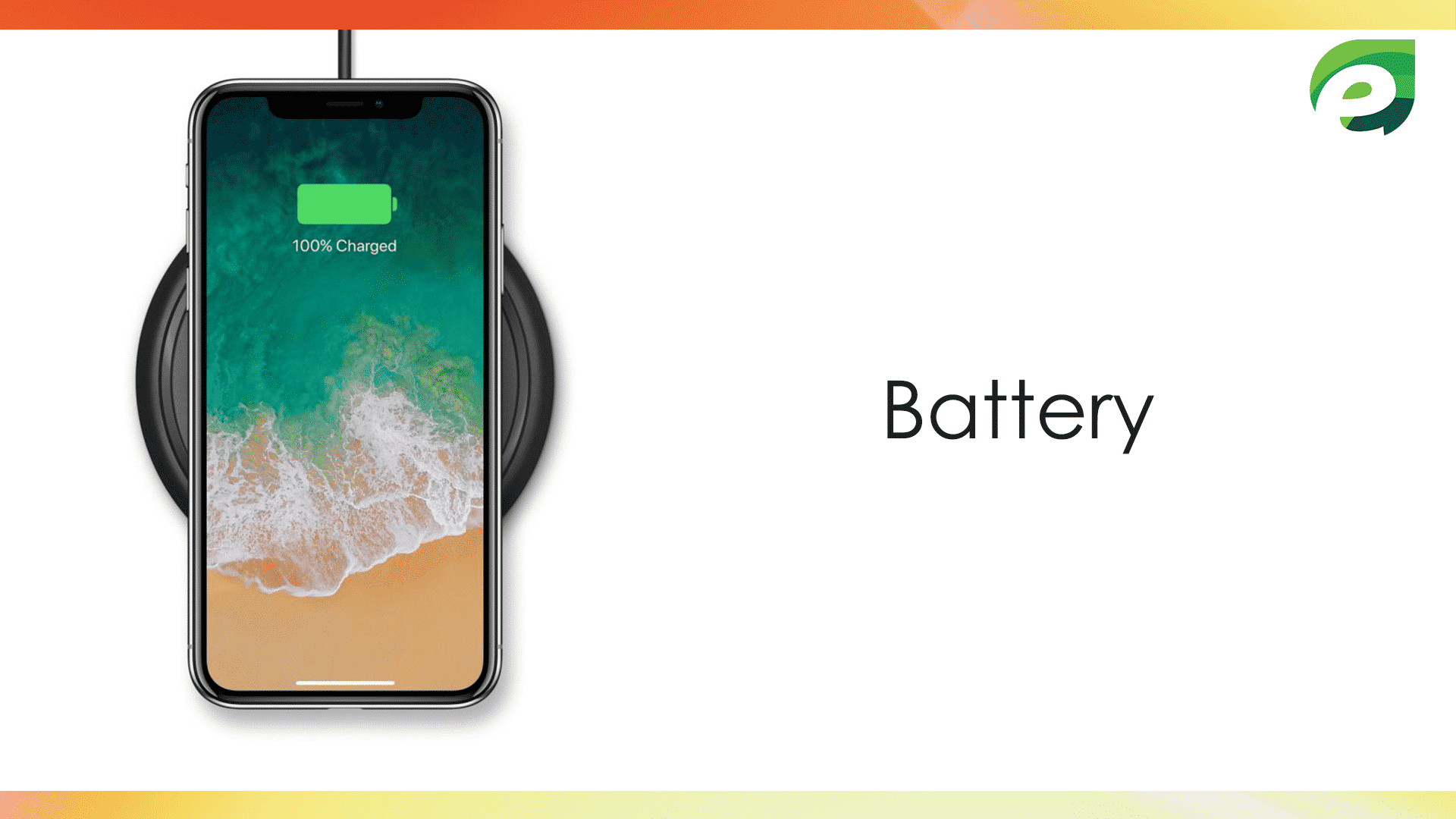 iphone x- Battery