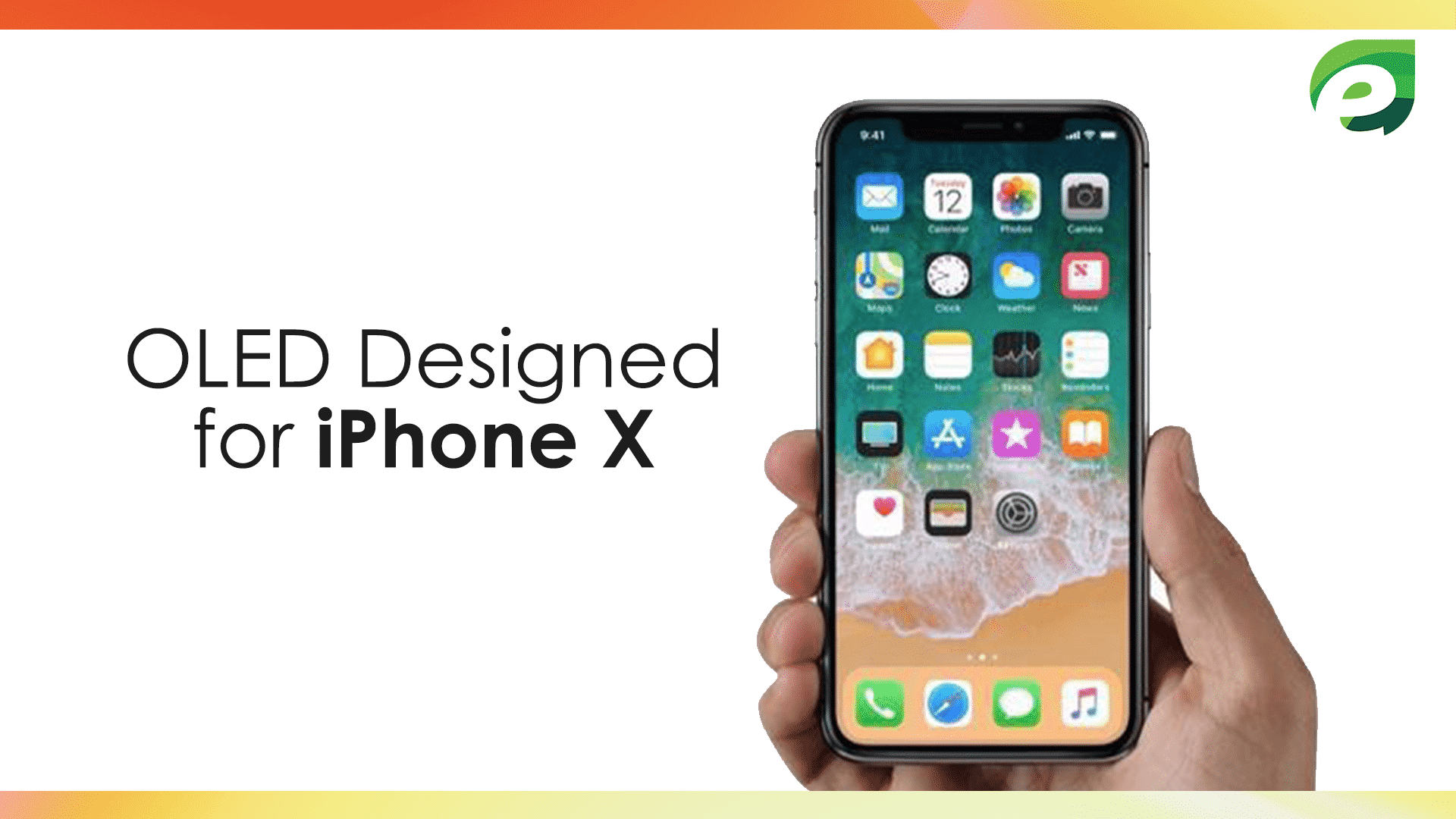 iphone x- oled designed