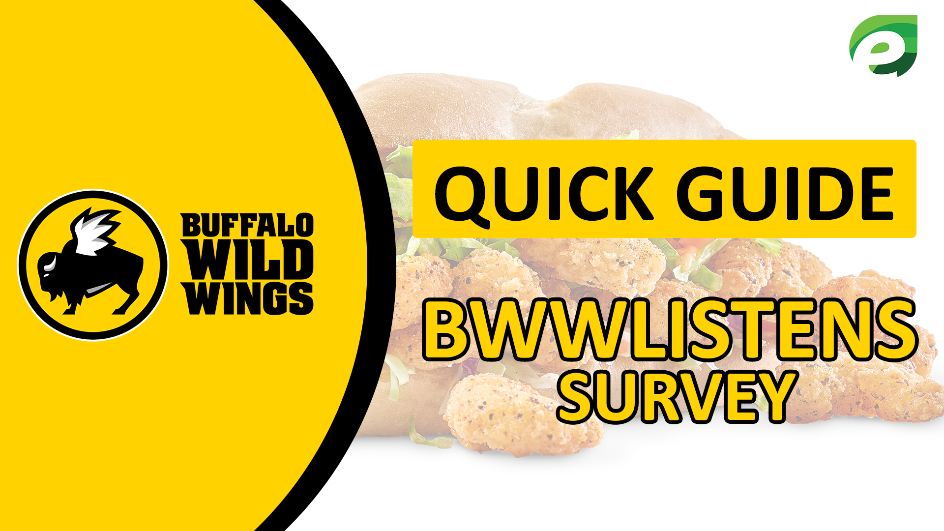 Bwwlistens survey Quick Guide