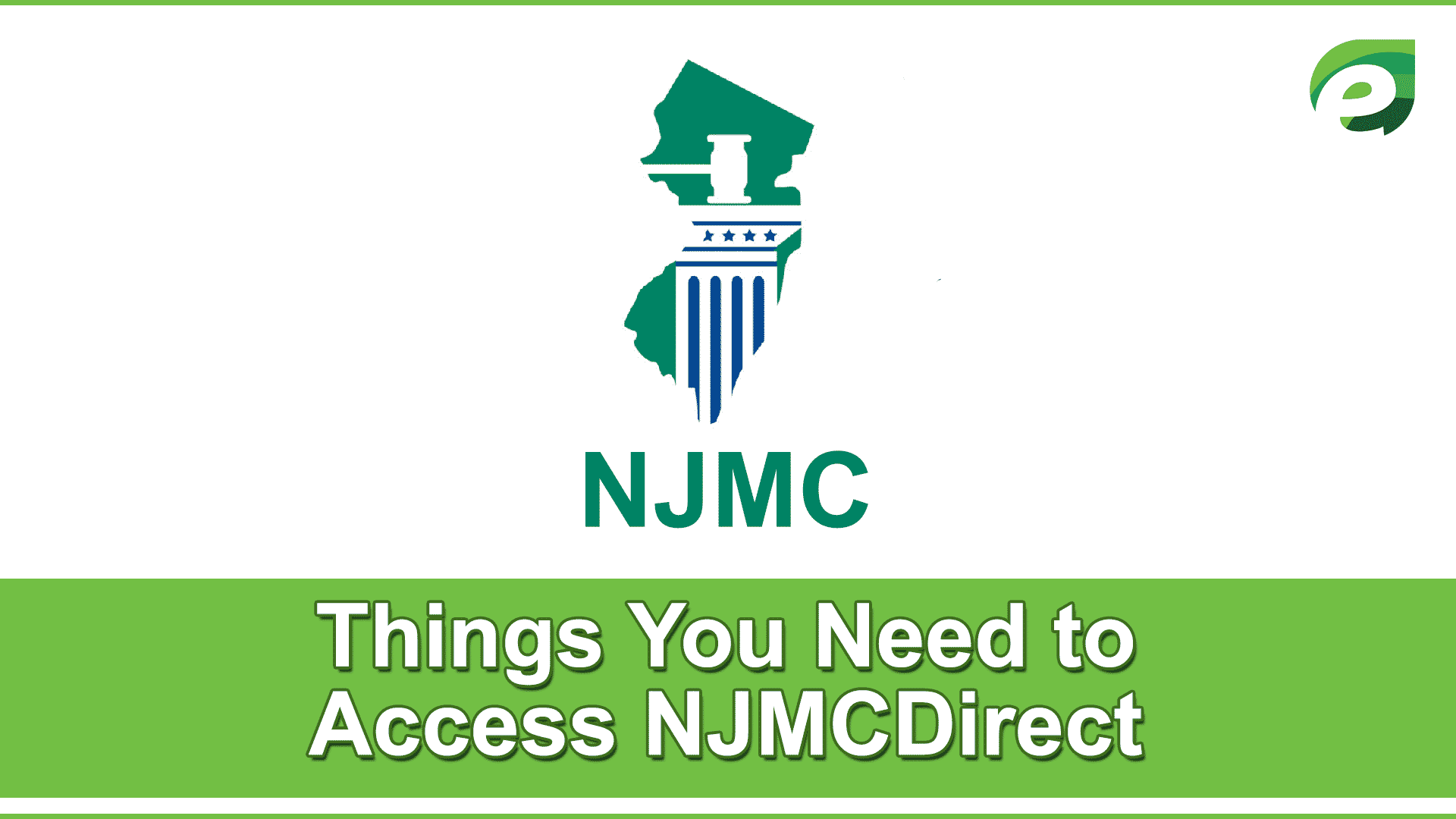 njmcdirect- tins needed to access courts