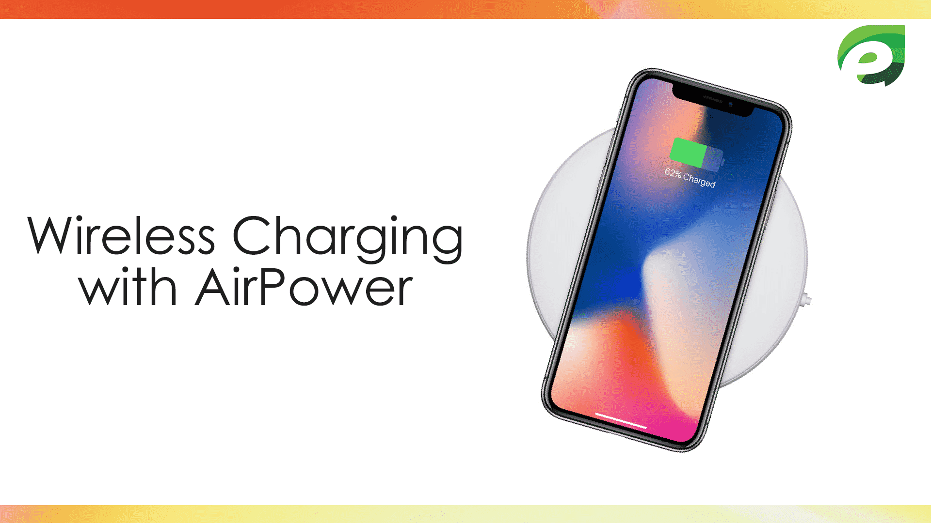 iphone x- wireless charging
