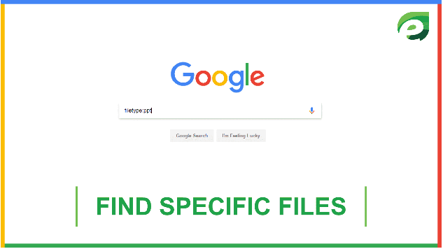 google tricks- find  files