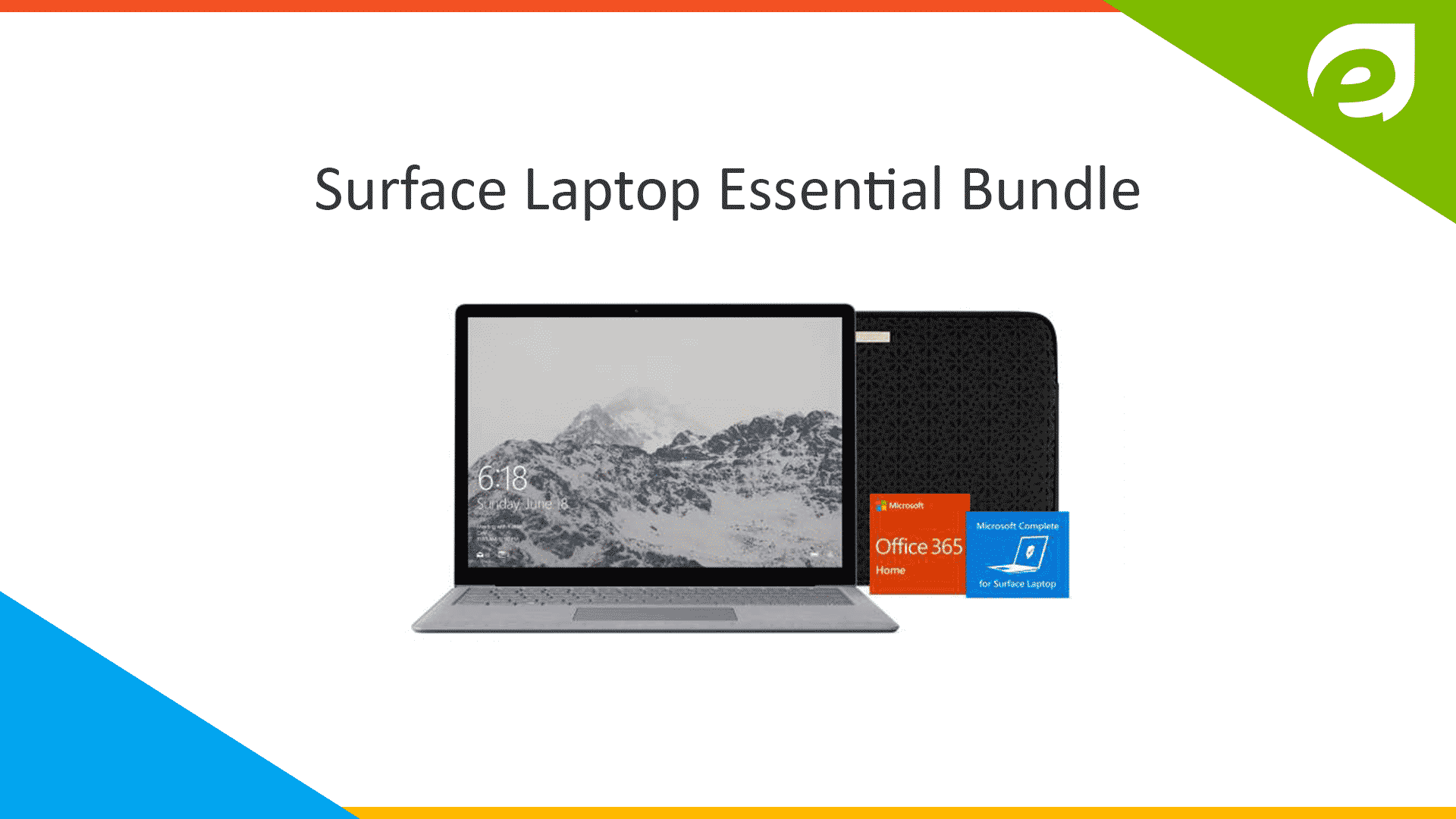 microsoft surface pro- essential bundle