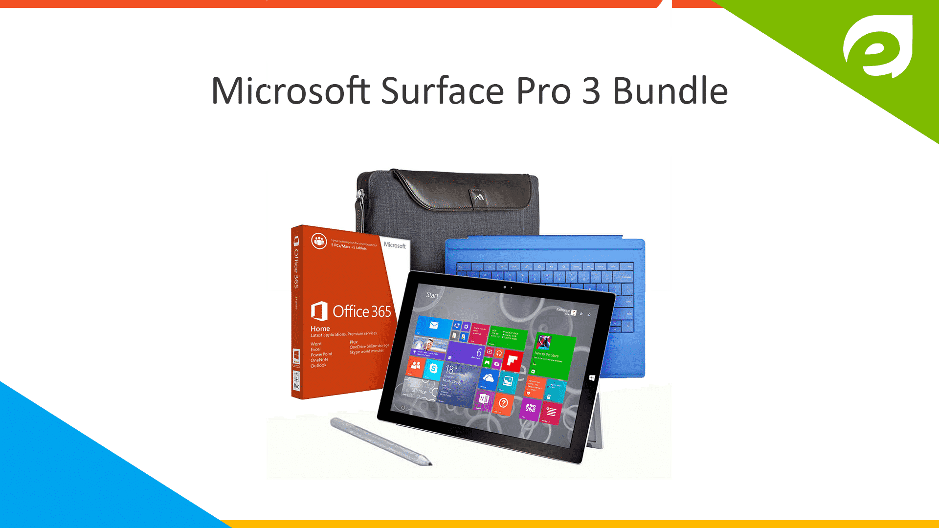 microsoft surface pro- pro 3 bundle