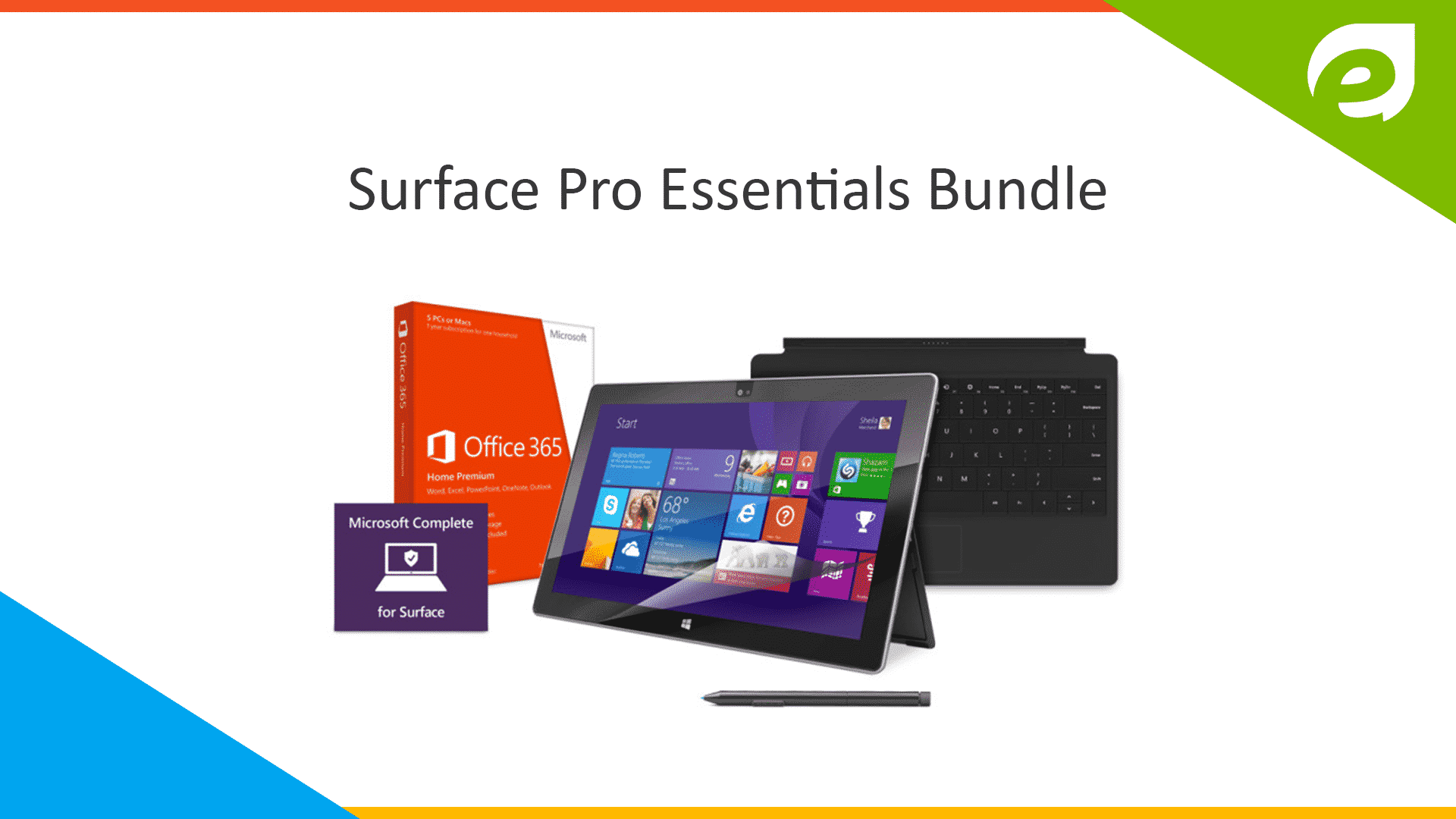 microsoft surface pro- bundle