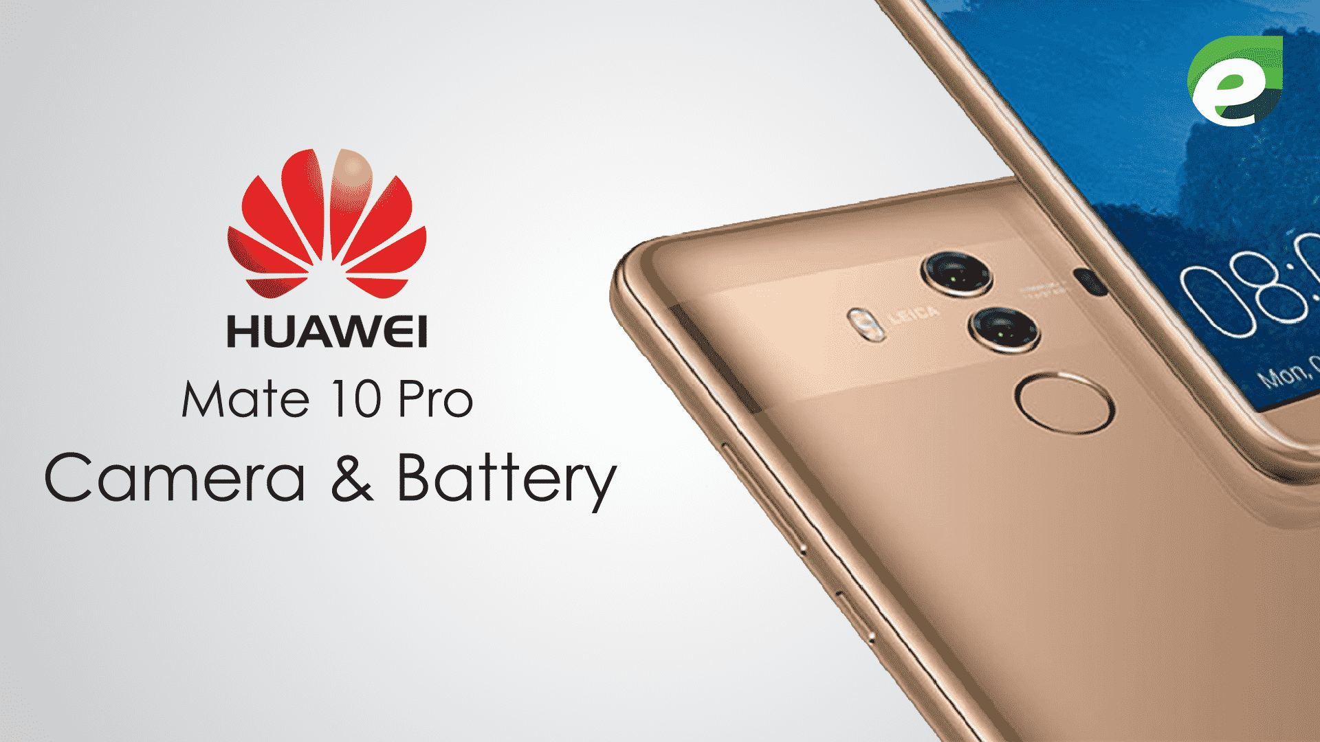 huawei mate 10 pro- battery and camera