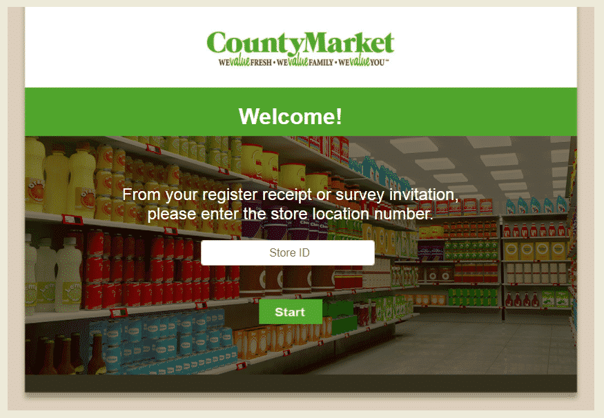 www.countymarketfeedback.com - survey website