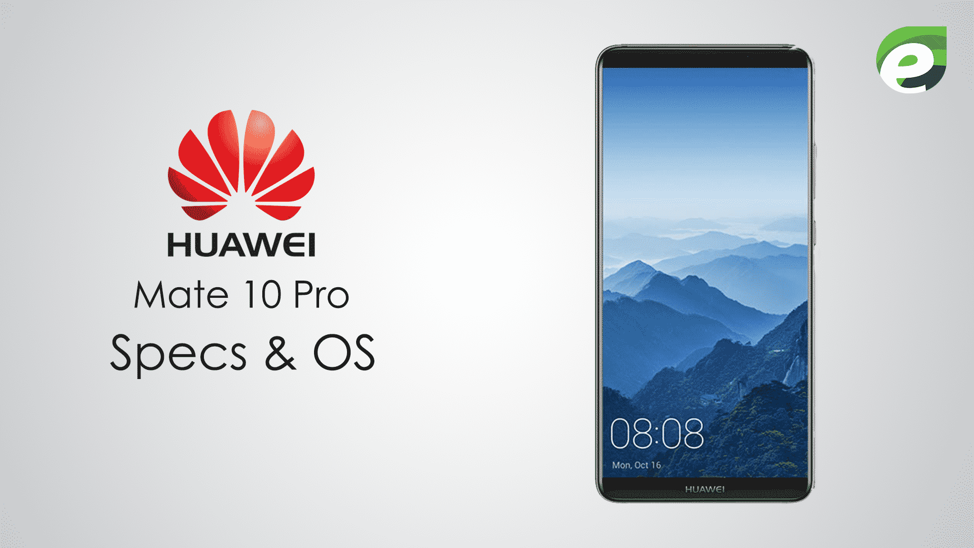 huawei mate 10 pro- specifications