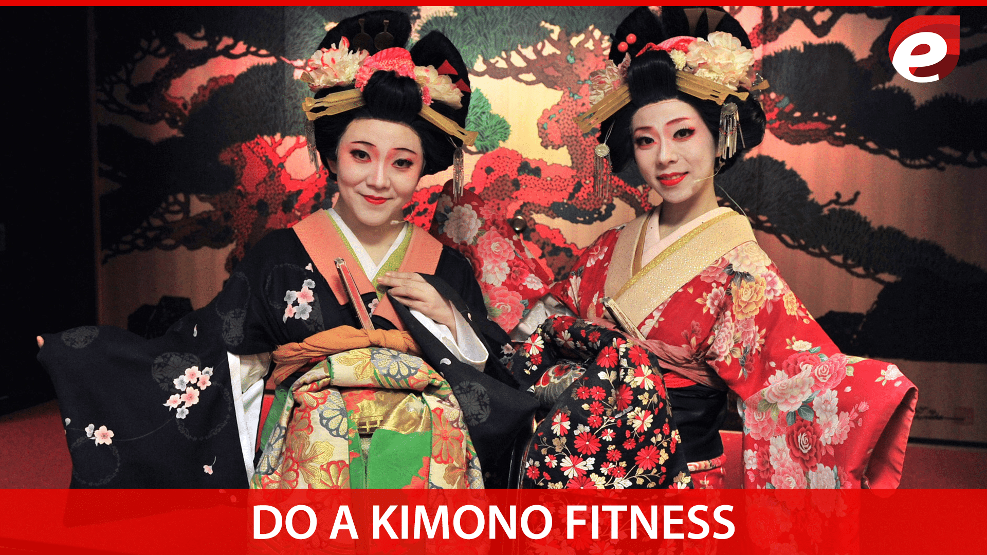 things to do in Tokyo- Kimono fitness