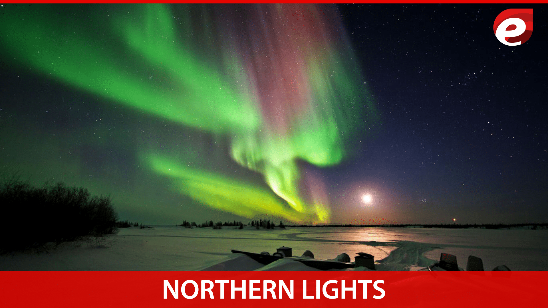 northern lights- colorful things in nature