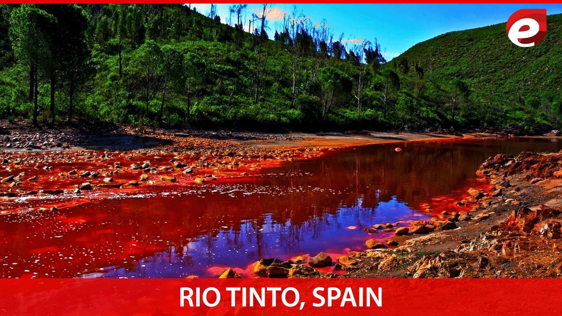 one of the most colorful places on earth-Rio Tinto