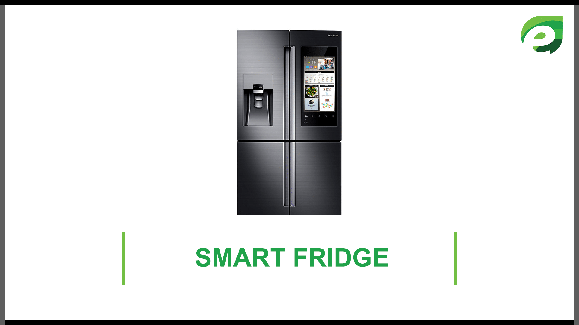 internet of things- smart fridge