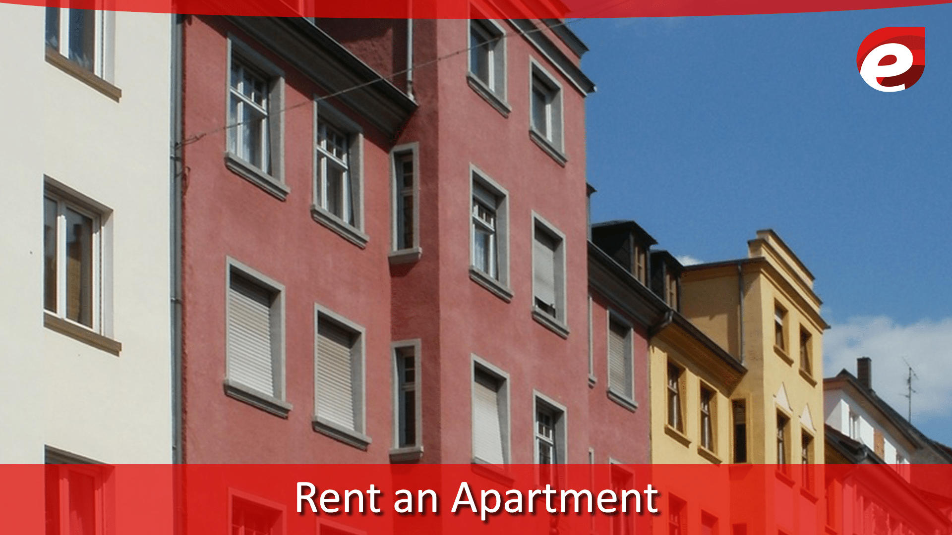 rent an appartment